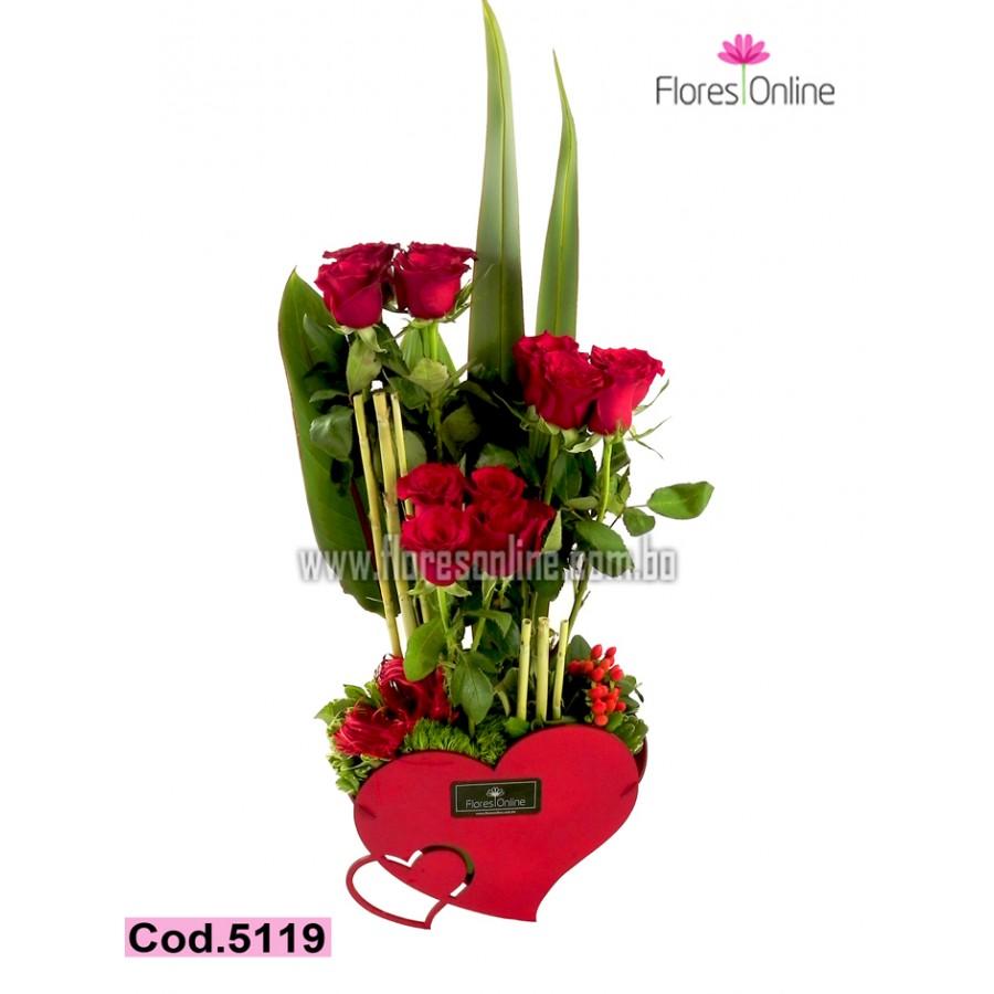 Romantico 12 Rosas (Cod.5119)