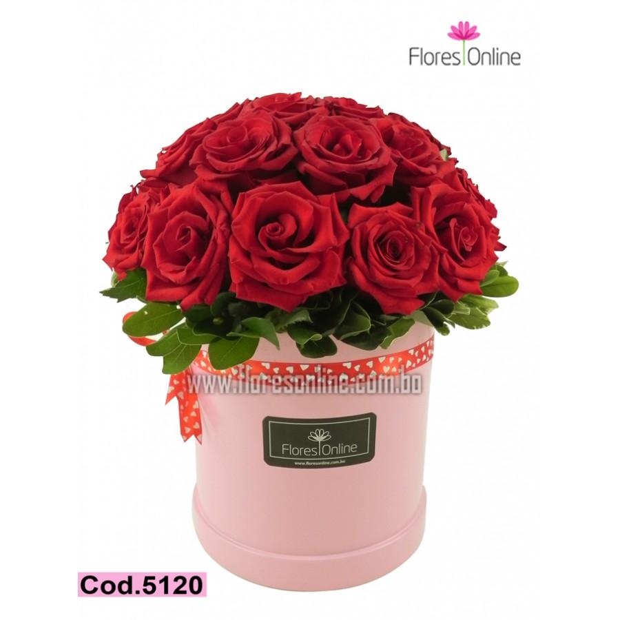 Arreglo Romantico 30 Rosas(Cod.5120)
