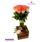 Romantico Rosas Blush (Cod. 5123)