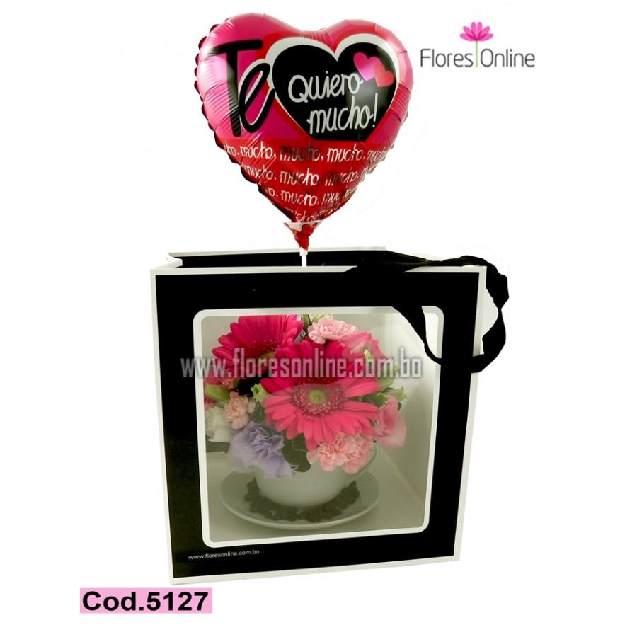 Regalo de Amor Hot Pink (Cod.5127)