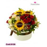Majestuoso Mix de flores (Cod.5135)