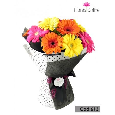 Bouquet Elegancia Gerberas(Cod.613)