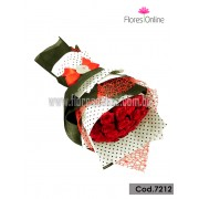 Bouquet Elite 18 Rosas (Cod.7212)