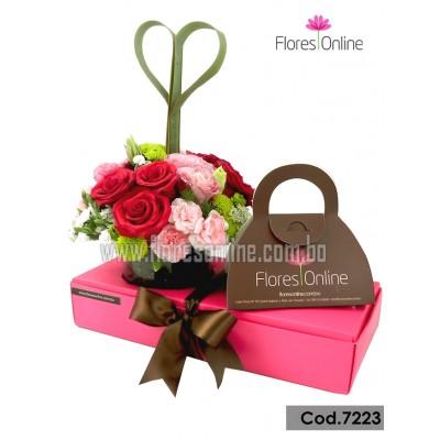 Amor, Flores y Chocolates (Cod.7223)