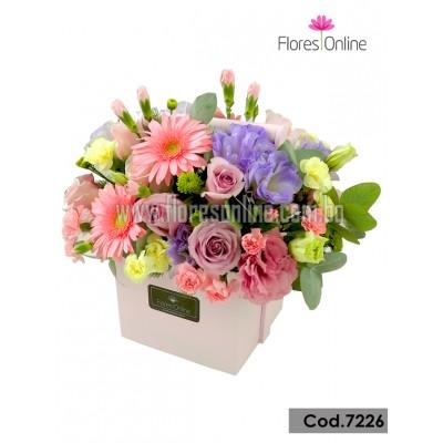 Arreglo Delicadeza Flores Mix (Cod.7226)