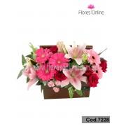 Jardinera Mix de Flores (Cod.7228)