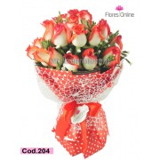 Bouquet Cariño Rosa Blush (Cod.204)