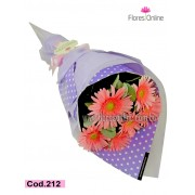 Bouquet Lila Pink (Cod.212)