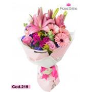 Bouquet Lirios Mix de Flores (Cod.219)