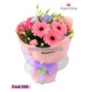 Bouquet Cariño Pink (Cod.220)