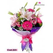 Bouquet Lirios Rosados (Cod.223)