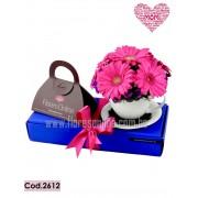 Amor,floresy Chocolates para Ella (Cod.2612)