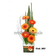 Verano Gerberas Naranjas (Cod.363)